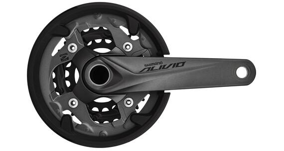 Shimano Alivio FC-M4050 Zwengel 40/30/22 9-speed grijs